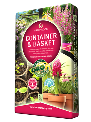 60L Container and Basket Compost
